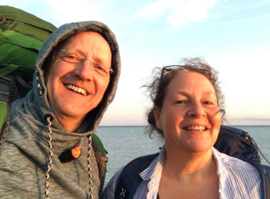 Paar vor der Ostsee