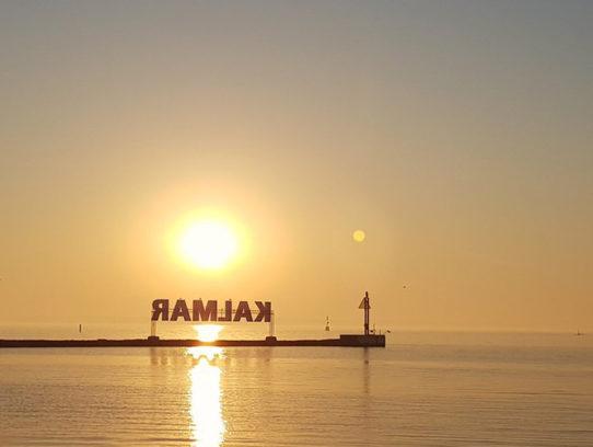 Schriftzug Kalmar