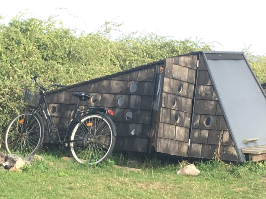 Shelter mit Rad
