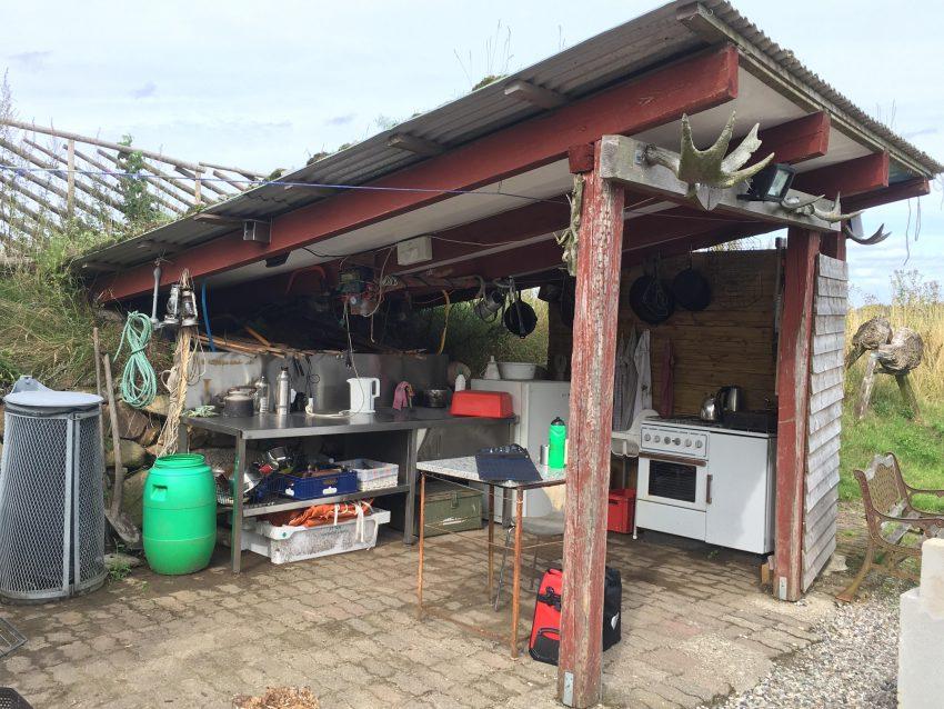 Draußenküche