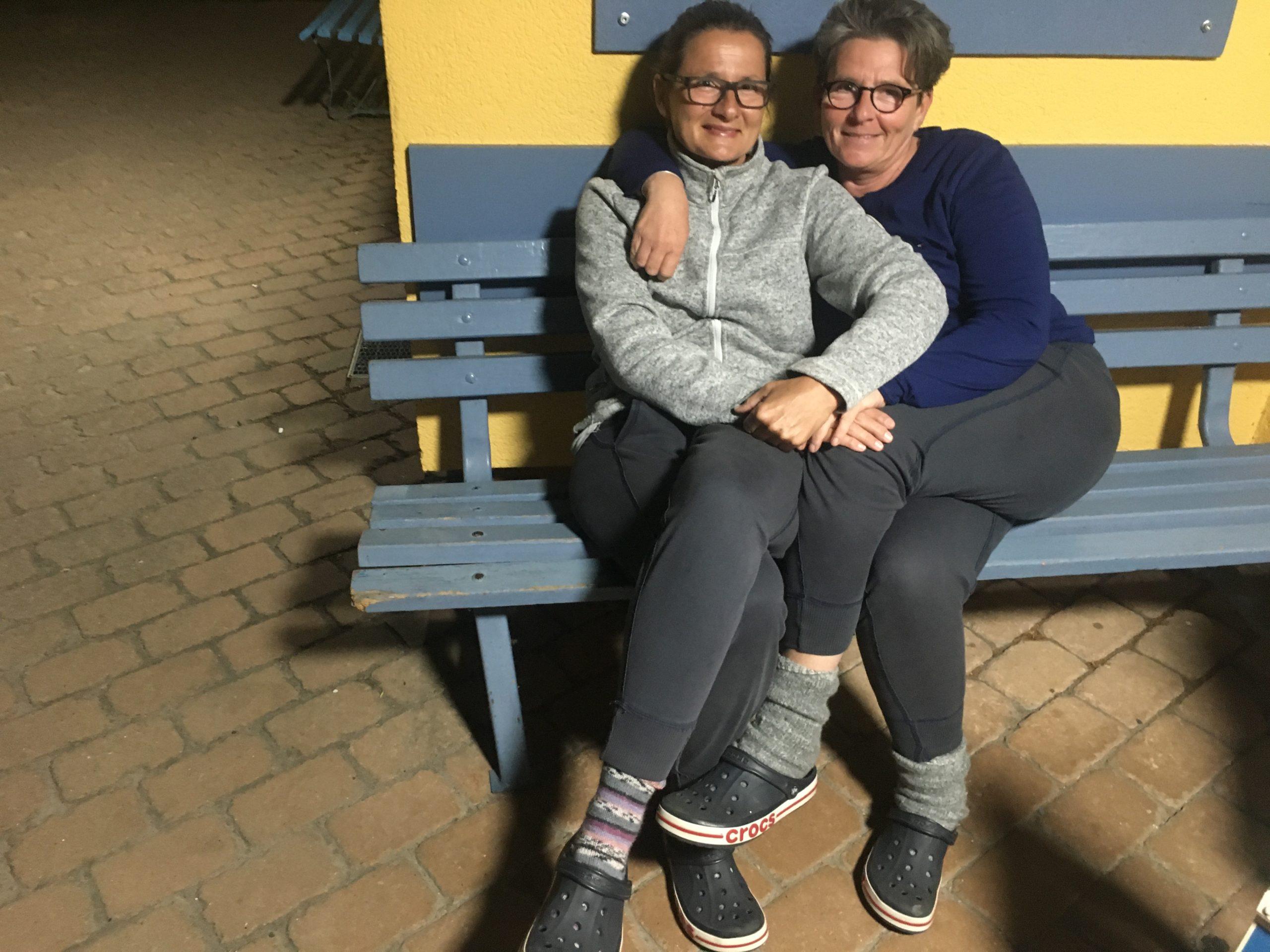 Paar von zwei Frauen
